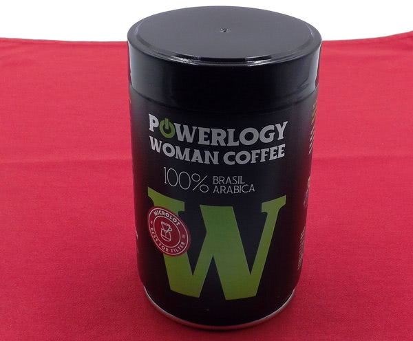 powerlogy woman coffee
